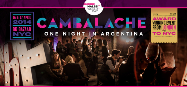 cambalache NYC Malbec World Day 2014
