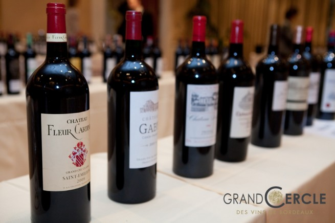 grand cercle NYC Wine Event